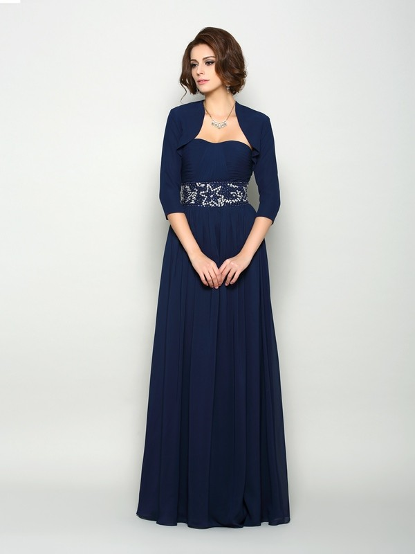 Chiffong 3/4 ermer Special Occasion Fashion Wrap