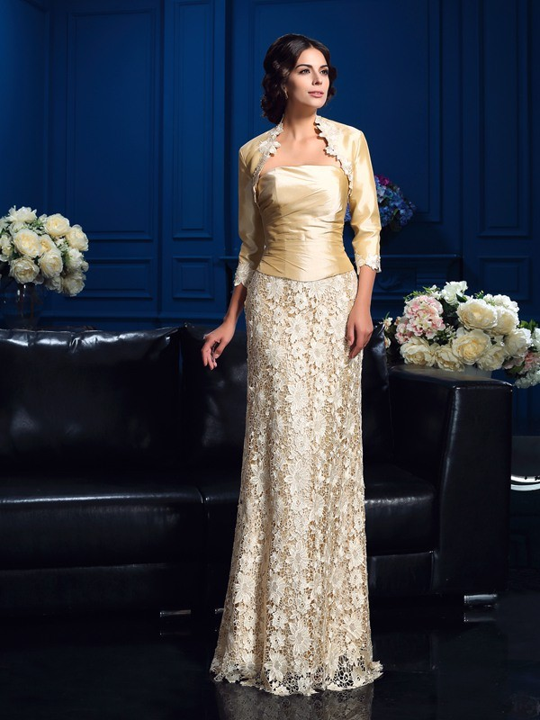 Blonder 3/4 ermer Taft Special Occasion Fashion Wrap