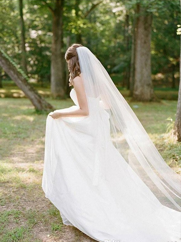 Elegant Tyll Long Wedding Veils