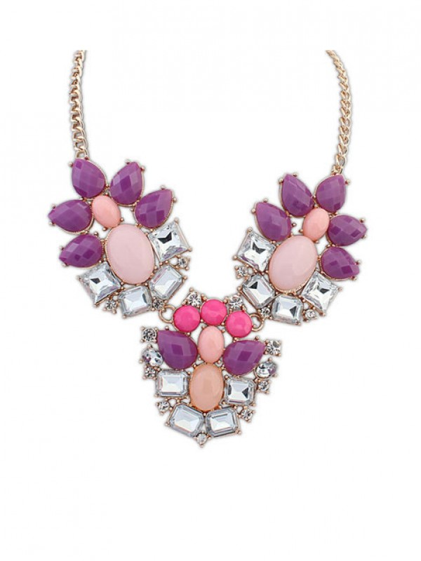 Occident Stylish Simple Geometry Exquisite Fashion Necklace