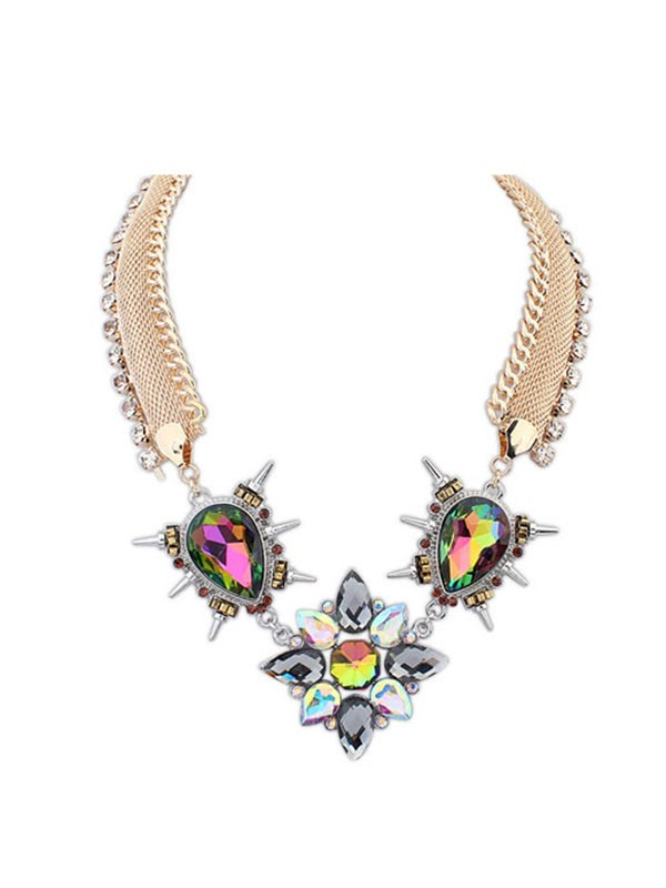 Occident Personality Punk Hyperbolic Fashion Necklace
