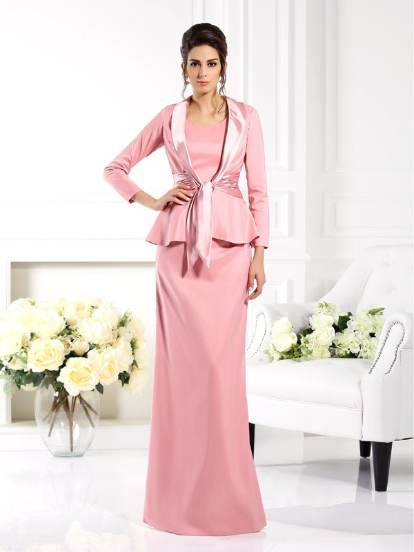 3/4 ermer Elastisk sateng Special Occasion Fashion Wrap