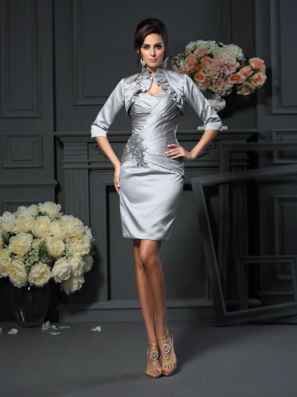 Silkesateng Half Sleeves Special Occasion Fashion Wrap