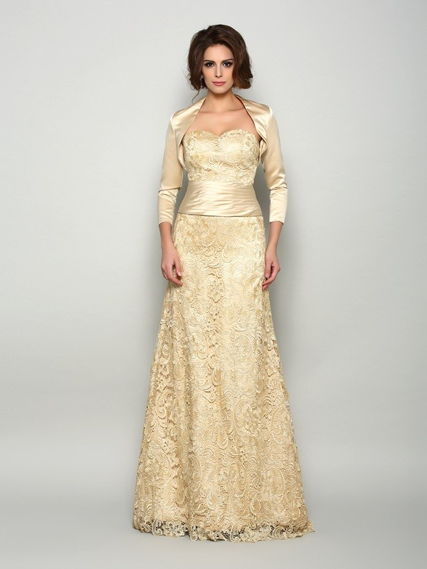 3/4 ermer Silkesateng Special Occasion Fashion Wrap