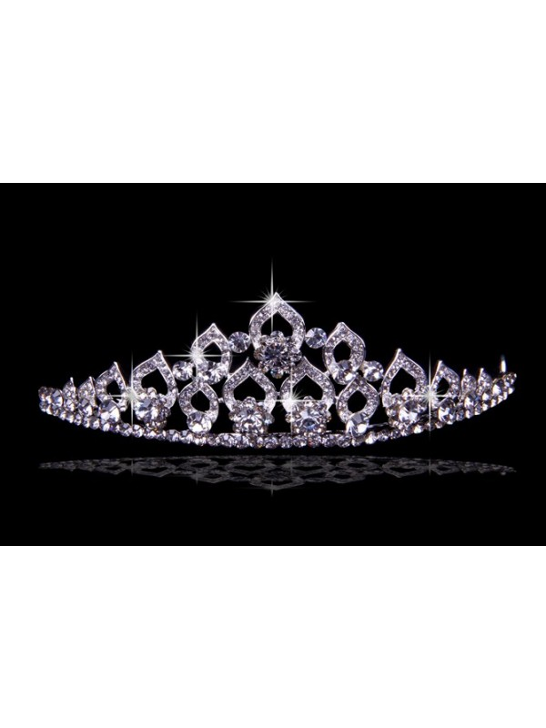 Glamorous Alloy With Czech Swarovskis Wedding Party Headpiece